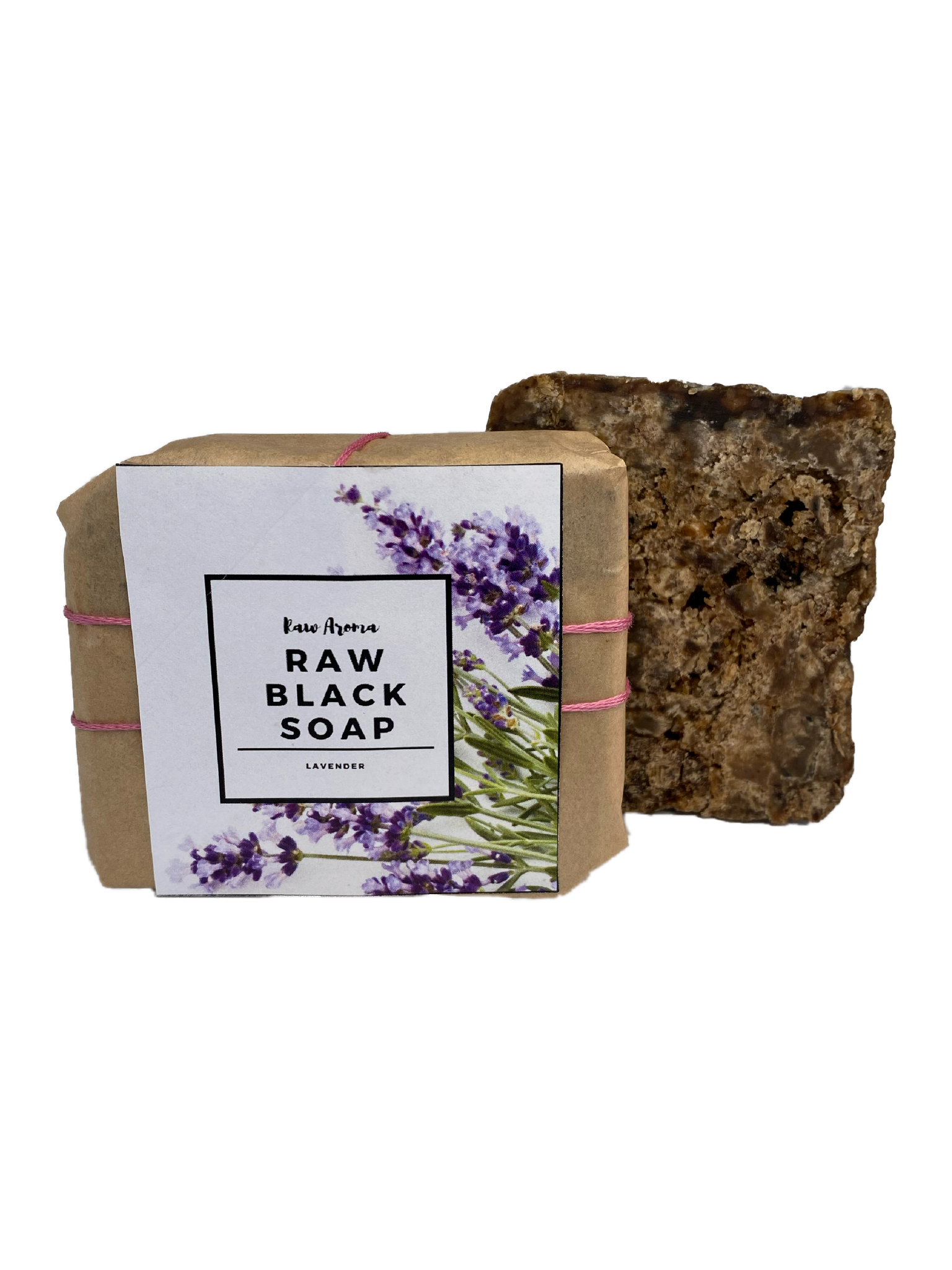 Infused African Black Soap