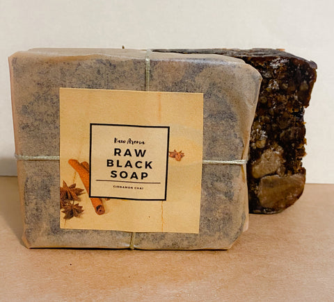 Cinnamon Chai Black Soap