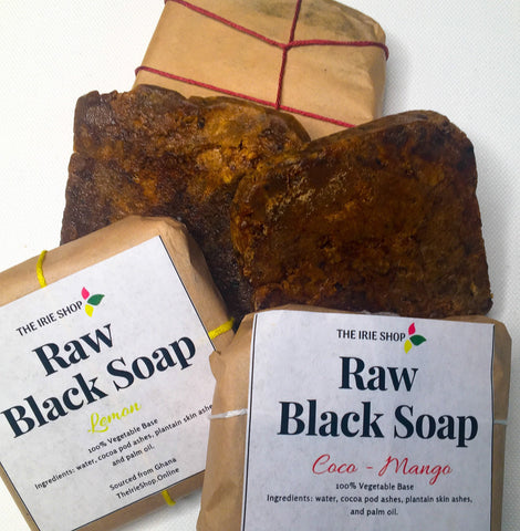 Coconut Mango/Lemon Black Soap (3 set)