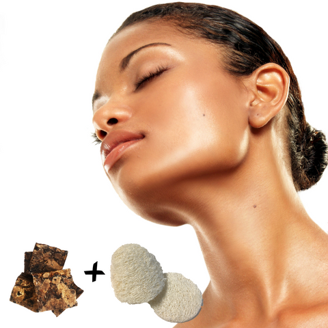 African Black Soap Facial Kit