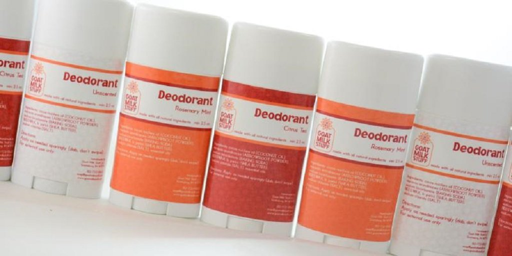Natural Deodorant instead of Anti-Perspirant