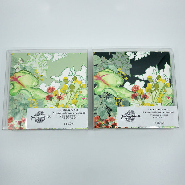 Secret Garden Stationery Set