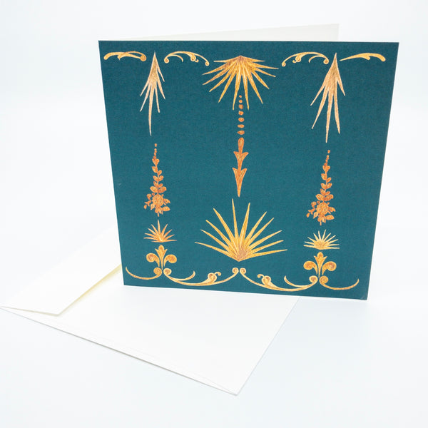 French Palm Frond Stationery Set