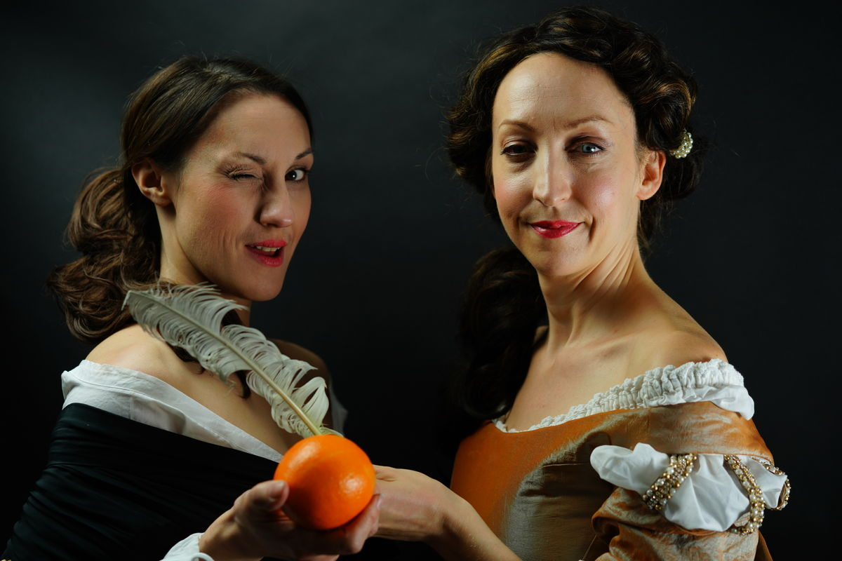 Oranges and Ink Claire Amias and Sarah Lawrie
