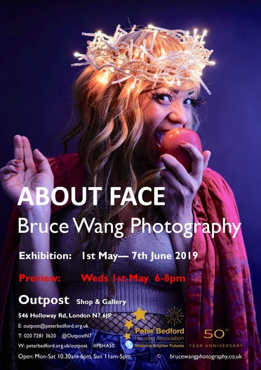 About Face Poster""