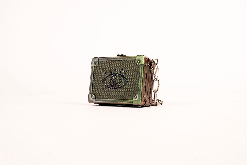 Mini Cyclops Pocket Box / Earth Green