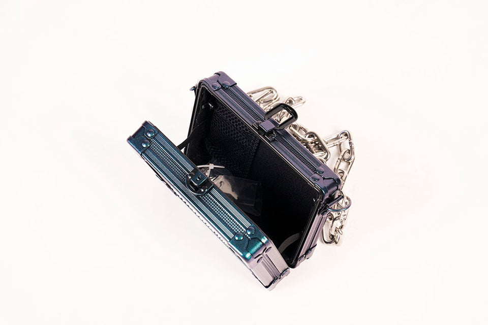 Load image into Gallery viewer, Mini Cyclops Pocket Box / Galaxy Blue