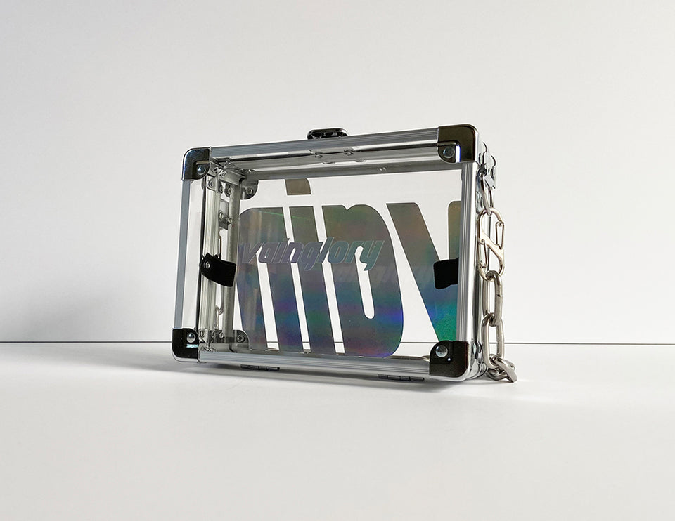 Load image into Gallery viewer, Iridescent VAIN Clutch Pocket Box