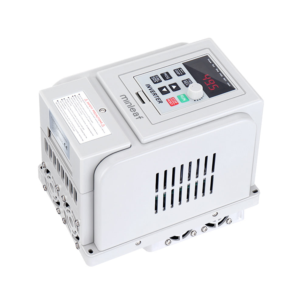 Minleaf AT1-2200X 2.2KW 220V PWM Control Inverter 1Phase Input 3Phase Out Inverter Variable Frequency Inverter