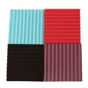 12 Pack Acoustic Wall Panels Sound Proofing Foam Pads Sound Studio Treatments