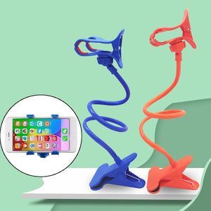 Universal Lazy Holder Arm Flexible Mobile Phone Stand Stents Bed Desk Table Clip