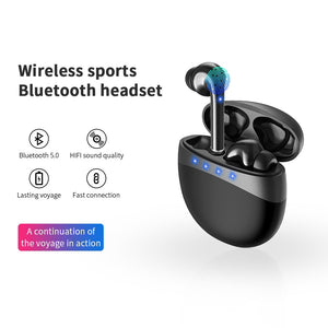 2020 NEWEST TWS Blutooth 5.0 Wireless Headphones
