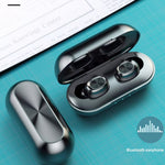 Bakeey B5 wireless bluetooth 5.0 TWS Earbuds Digital Display Earphone Waterproof Stereo Sport Music Headphones