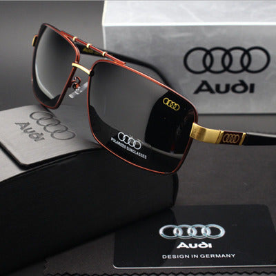 Audi Polarized Retro Sunglasses