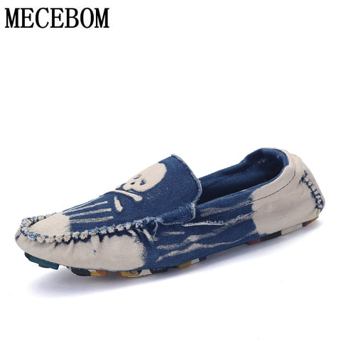 Skull Men Loafers