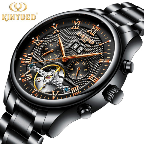 Luxury Automatic Self-Wind Watch Men