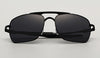 Polarized brown rectangle drive sun glasses UV400 Classic