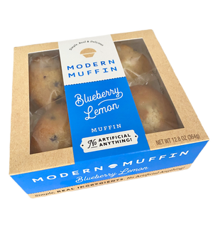 Blueberry Lemon Muffin (Box of 4)