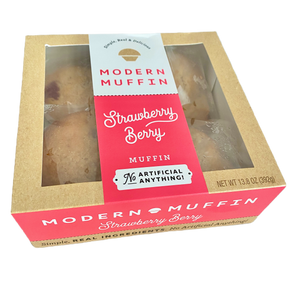 Strawberry Berry Muffin (Box of 4)