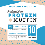 Load image into Gallery viewer, Blueberry Protein Muffin (Box of 4)