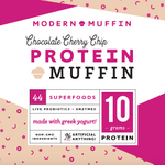 Load image into Gallery viewer, Chocolate Cherry Chip Protein Muffin (Box of 4)