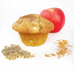 Apple Cinnamon Flax Protein Muffin (Box of 4)