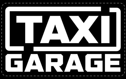 TAXI GARAGE Stickers