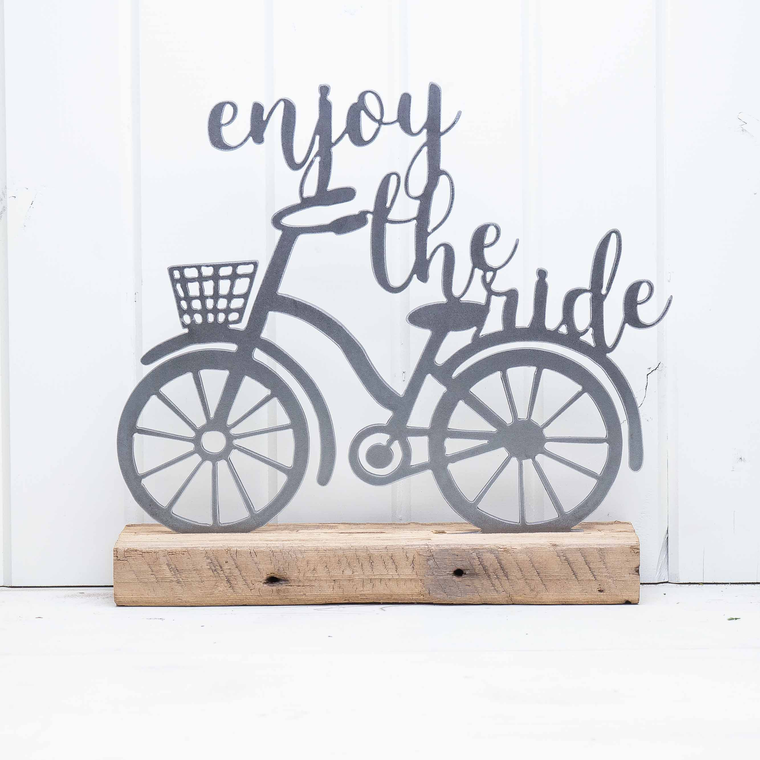 Enjoy The Ride With Bicycle