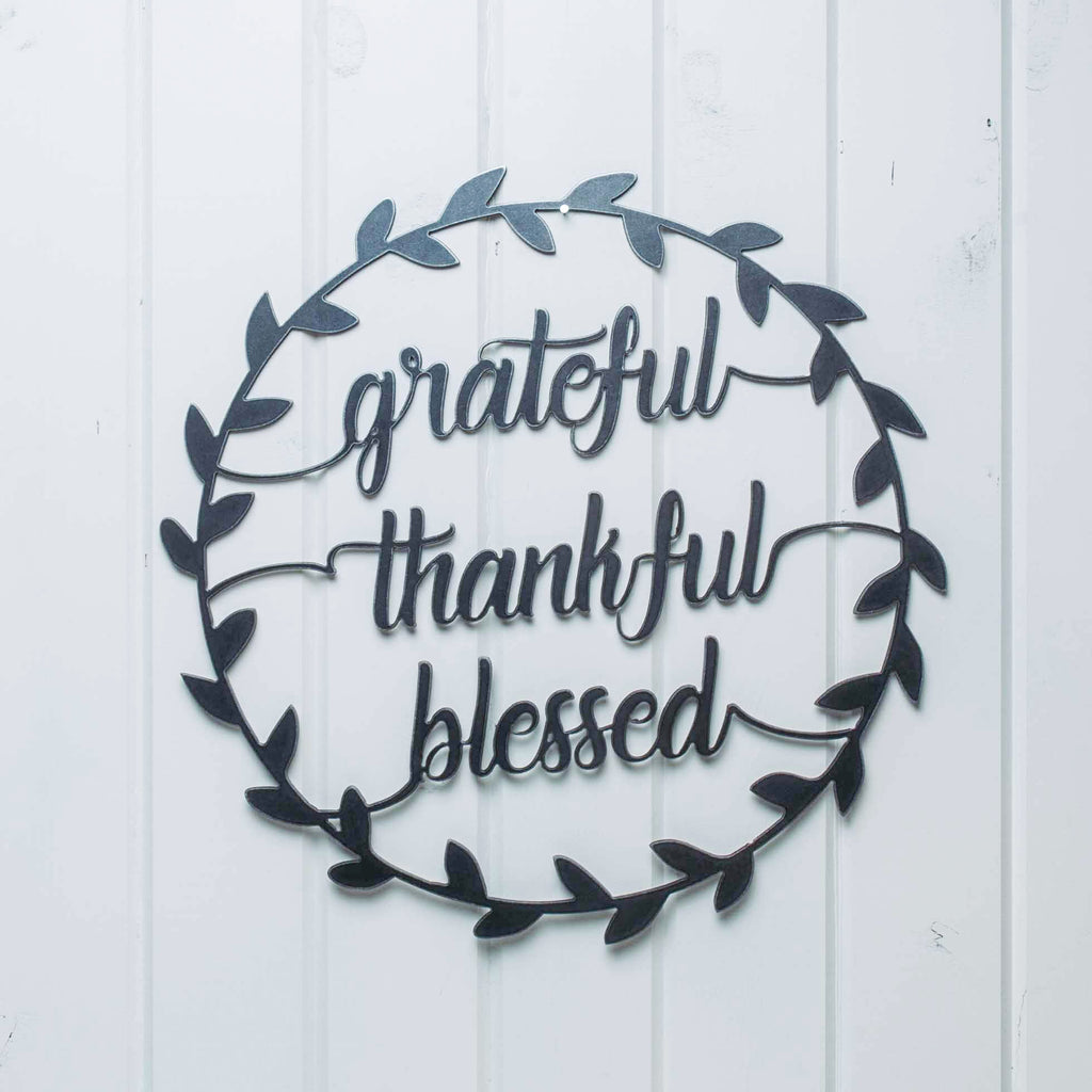 Grateful Thankful Wreath