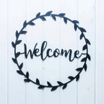 Welcome Wreath