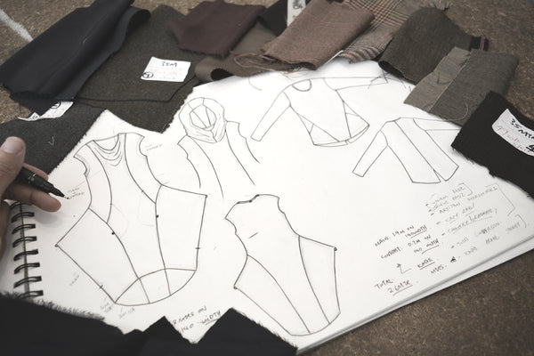 Autumn Winter 20 Design Sketches