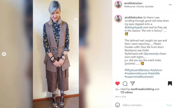 Melbourne Ethical Womenswear Style at Any Age