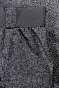 Italian Charcoal Wool Suiting fabric