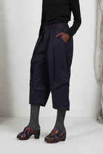 Load image into Gallery viewer, AW20 PLICA DOUBLE CUFF PANTS - FRENCH NAVY