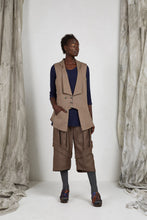 Load image into Gallery viewer, Unisex Tailored Wool Vest with Notched Shawl Collar