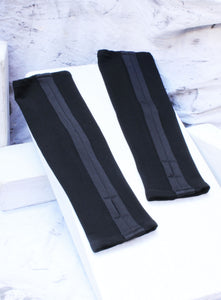 FINGERLESS  GLOVES - ONYX