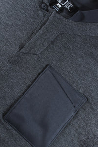 Viscose Grey Marle Jersey Shirt