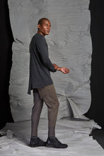 Load image into Gallery viewer, LINO LONG SLEEVE TOP - CHARCOAL