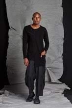 Load image into Gallery viewer, LINO LONG SLEEVE TOP - ONYX