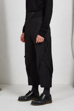 Load image into Gallery viewer, AW20 ORIME WIDE FOLD PANTS - OBSIDIAN
