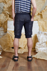 S/S 20 ORRI SLIM SHORTS - DENIM