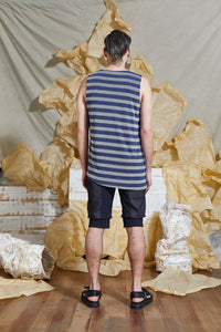S/S 20 RAI REVERSIBLE TANK TOP - AEGEAN STRIPE