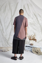 Load image into Gallery viewer, THOM SPLIT LINE SHIRT - DUSTY ROSE
