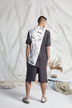 Load image into Gallery viewer, THOM SPLIT LINE SHIRT - FRAGMENT MEMOIRS PRINT
