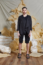 Load image into Gallery viewer, S/S 20 TSUMI WRAP JACKET - ONYX