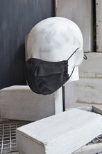 Load image into Gallery viewer, ORIGAMI MASK - CHARCOAL TENCEL