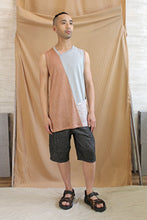 Load image into Gallery viewer, Mens Italian Linen Tank Top