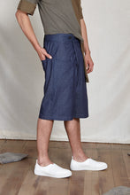 Load image into Gallery viewer, TOMO FOLD SHORTS - DENIM