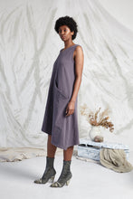 Load image into Gallery viewer, AVAYA POCKET KNIT DRESS - SMOKE