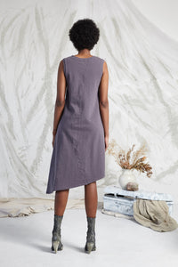AVAYA POCKET KNIT DRESS - SMOKE